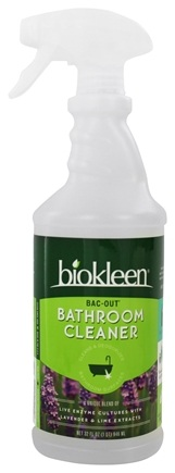 Biokleen - Biokleen Bac-Out Bathroom Cleaner Lavender-Lime - 32 oz.