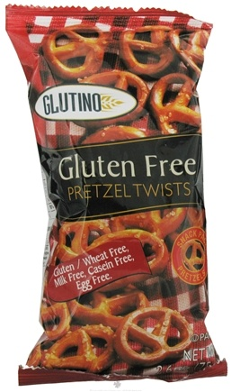 DROPPED: Glutino - Gluten Free Pretzel Twists - 2.6 oz.