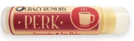 DROPPED: Crazy Rumors - Perk Lip Balm Amaretto - 0.15 oz. CLEARANCE PRICED