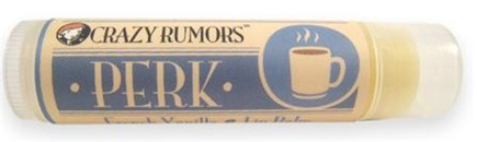 DROPPED: Crazy Rumors - Perk Lip Balm French Vanilla - 0.15 oz. CLEARANCE PRICED