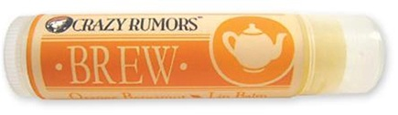 DROPPED: Crazy Rumors - Brew Lip Balm Orange Bergamot - 0.15 oz. CLEARANCE PRICED