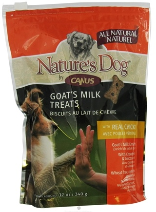 DROPPED: Canus - Nature's Dog Fresh Goat's Milk Treats with Real Chicken - 12 oz.