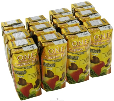 DROPPED: O.N.E. - Juice 100% Natural Fat Free Cashew Fruit - 11.2 oz.