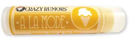 DROPPED: Crazy Rumors - A La Mode Lip Balm Banana Split - 0.15 oz. CLEARANCE PRICED