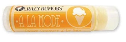 DROPPED: Crazy Rumors - A La Mode Lip Balm Orange Creamsicle - 0.15 oz. CLEARANCE PRICED