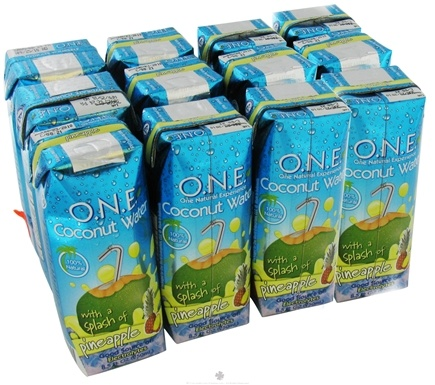 DROPPED: O.N.E. - Coconut Water 100% Natural Pineapple - 8.5 oz.