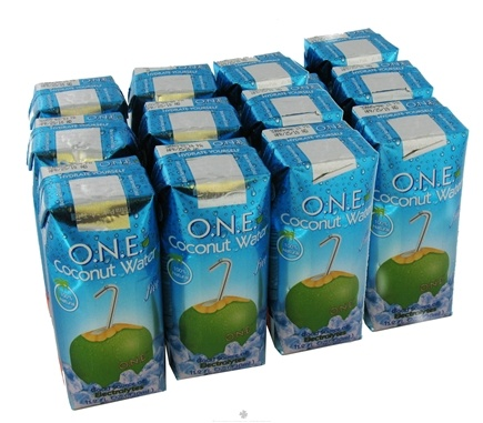 DROPPED: O.N.E. - Coconut Water 100% Natural Fat Free Unflavored - 11.2 oz.
