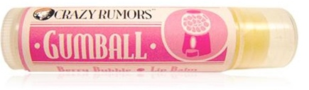 DROPPED: Crazy Rumors - Gumball Lip Balm Berry Bubble - 0.15 oz. CLEARANCE PRICED