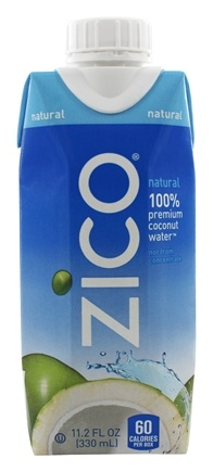 Zico - Pure Premium Coconut Water Natural - 11.2 oz.