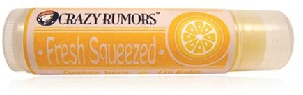 DROPPED: Crazy Rumors - Fresh Squeezed Lip Balm Orange Juice - 0.15 oz. CLEARANCE PRICED