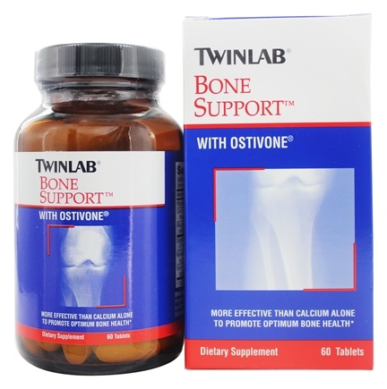 Twinlab - Bone Support with Ostivone - 60 Tablets