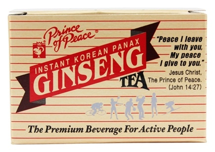 Prince of Peace - Instant Korean Panax Ginseng Tea - 10 Bags