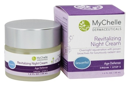 MyChelle Dermaceuticals - Revitalizing Night Cream Age Defense Step 5 Unscented - 1.2 oz.