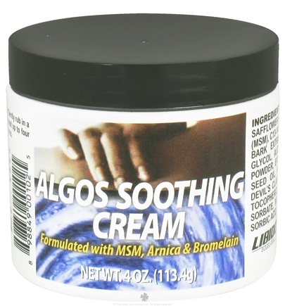DROPPED: Libido Edge Labs - Algos Soothing Cream - 4 oz. formerly Pain Relief Cream CLEARANCE PRICED