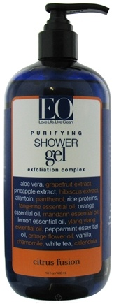 DROPPED: EO Products - Shower Gel Purifying Exfoliation Complex Citrus Fusion - 16 oz.