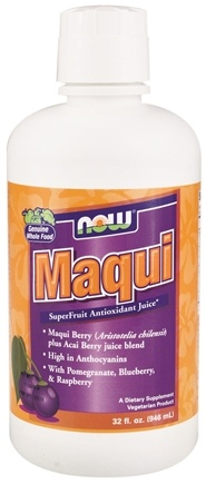 DROPPED: NOW Foods - Maqui SuperFruit Antioxidant Juice - 32 oz. CLEARANCE PRICED