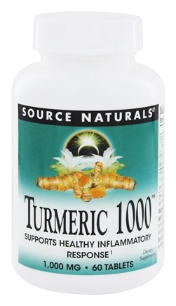 Source Naturals - Turmeric 1000 1000 mg. - 60 Tablets