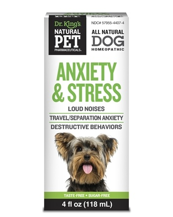 DROPPED: King Bio - Natural Pet Anxiety & Stress For Canines Large - 4 oz. CLEARANCE PRICED