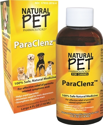 DROPPED: King Bio - Natural Pet ParaClenz For Canines Large - 4 oz. CLEARANCE PRICED