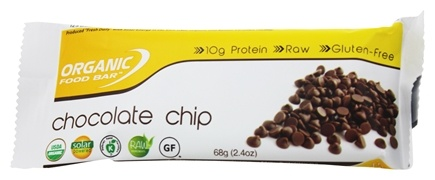 Organic Food Bar - Chocolate Chip - 2.4 oz.