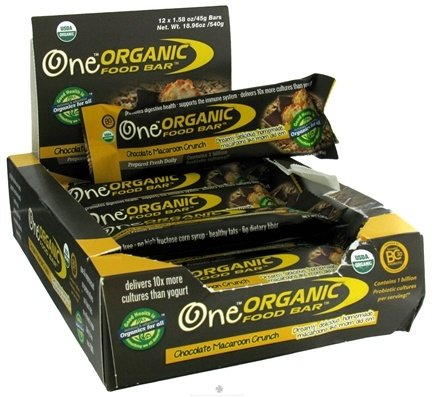 DROPPED: Organic Food Bar - One Chocolate Macaroon Crunch - 1.58 oz.