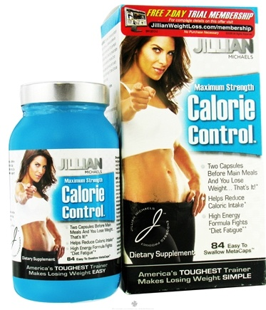 DROPPED: Thin Care International - Jillian Michaels Maximum Strength Calorie Control - 84 Capsules CLEARANCE PRICED
