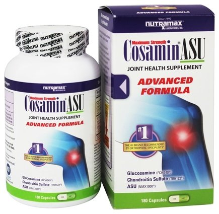 Cosamin - ASU Joint Health Supplement Advanced Formula - 180 Capsules