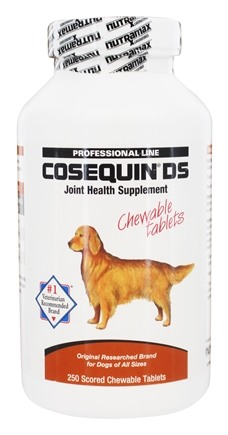 Cosequin - DS Double Strength Joint Health Supplement for Dogs - 250 Chewable Tablets