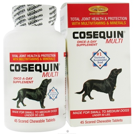 DROPPED: Cosequin - Multi For Small to Medium Dogs - 45 Chewable Tablets