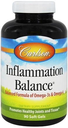 DROPPED: Carlson Labs - Inflammation Balance With Norwegian Fish Oil - 90 Softgels CLEARANCE PRICED
