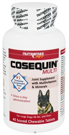 DROPPED: Cosequin - Multi For Large Dogs - 45 Chewable Tablets
