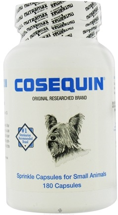 DROPPED: Cosequin - Single Strength for Dogs and Cats - 180 Capsules CLEARANCE PRICED
