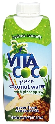 Vita Coco - Coconut Water 330 ml. Pineapple - 11.1 oz.