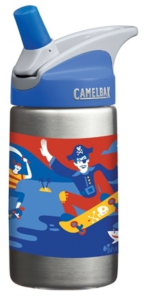 DROPPED: CamelBak - Kids Stainless-Steel Bottle Pirates Design - 12 oz. CLEARANCE PRICED