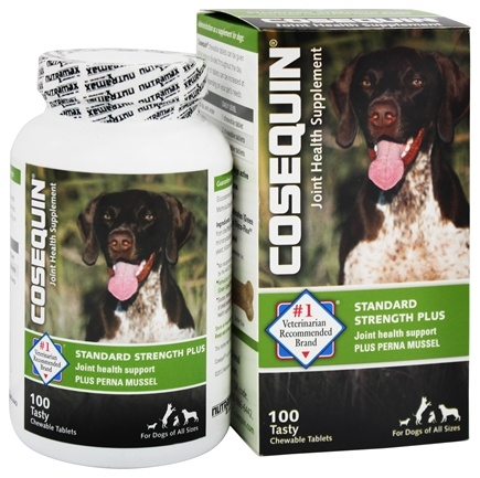 DROPPED: Cosequin - Bonelets Plus Hip & Joint Support Supplement for Dogs - 100 Chewable Tablets