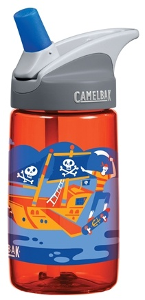 DROPPED: CamelBak - Kids BPA Free Plastic Bottle Fire Pirate Design - 12 oz.