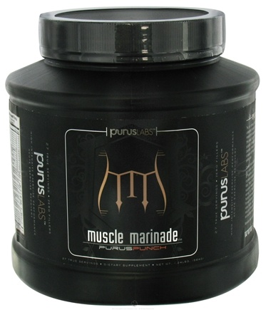 DROPPED: Purus Labs - Muscle Marinade Preworkout/Intraworkout Drink Mix Purus Punch - 1.24 lbs. CLEARANCE PRICED