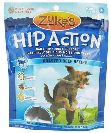 DROPPED: Zuke's - Hip Action Dog Treats Roasted Beef Recipe - 6 oz. CLEARANCE PRICED