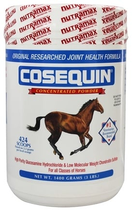 DROPPED: Cosequin - Equine Powder Joint Supplement for Horses - 1400 Grams CLEARANCE PRICED