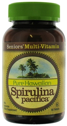 DROPPED: Nutrex Hawaii - Pure Hawaiian Spirulina Pacifica Seniors' Multi Vitamin - 90 Tablets