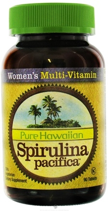 DROPPED: Nutrex Hawaii - Pure Hawaiian Spirulina Pacifica Women's Multi Vitamin - 90 Tablets