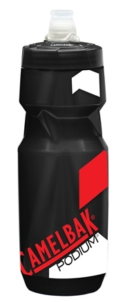 DROPPED: CamelBak - Podium Bottle BPA Free Smoke/Racing Red - 24 oz. CLEARANCE PRICED