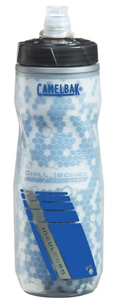 DROPPED: CamelBak - Podium Chill Bottle BPA Free Clear/Blue - 24 oz. CLEARANCE PRICED