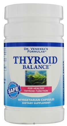 DROPPED: Dr. Venessa's Formulas - Thyroid Balance - 60 Vegetarian Capsules CLEARANCE PRICED