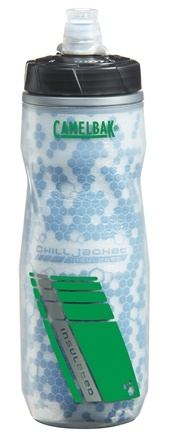 DROPPED: CamelBak - Podium Chill Bottle BPA Free Clear/Green - 21 oz. CLEARANCE PRICED