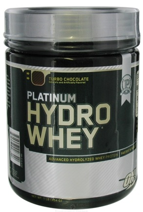 DROPPED: Optimum Nutrition - Platinum Hydro Whey Advanced Hydrolyzed Whey Protein Turbo Chocolate - 1 lb. CLEARANCE PRICED