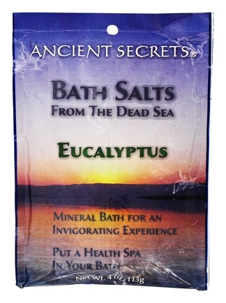 DROPPED: Ancient Secrets - Aromatherapy Dead Sea Mineral Bath Eucalyptus - 4 oz. CLEARANCE PRICED