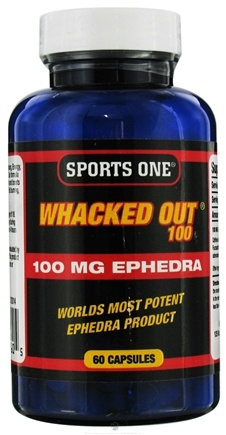 DROPPED: Sports One - Whacked Out 100 - 60 Capsules UNPUBLISHED