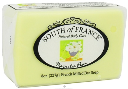 DROPPED: South of France - French Milled Vegetable Bar Soap Magnolia Pear - 8 oz.