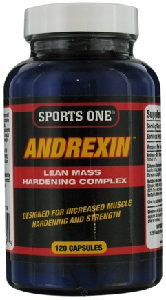 DROPPED: Sports One - Andrexin Lean Mass Hardening Complex - 120 Capsules CLEARANCE PRICED